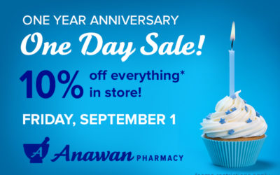 1 Year Anniversary, 1 Day Sale!